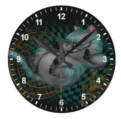 Cheshire Cat Clock