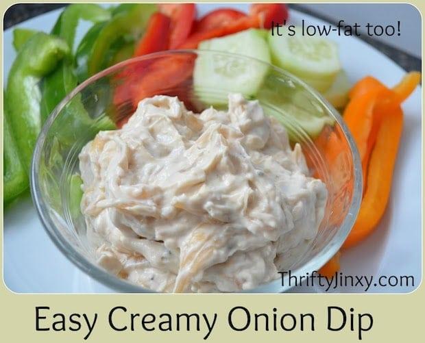 Easy Creamy Onion Dip