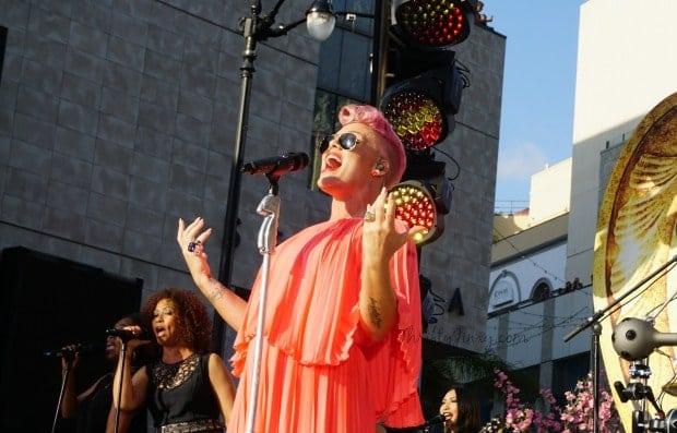Pink Just Like Fire Performance Jimmy Kimmel