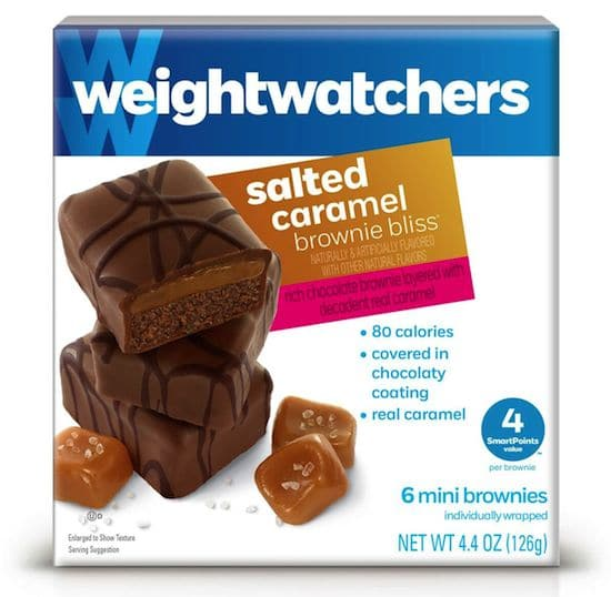 Weight Watchers Salted Caramel Brownie Bliss