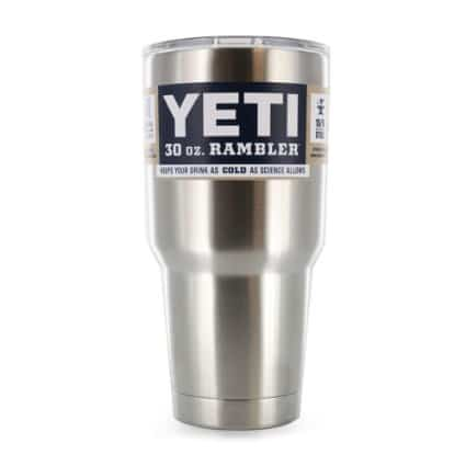 Yeti Rambler Tumbler Stainless Steel - Keeps Hot Hot and Cold Cold