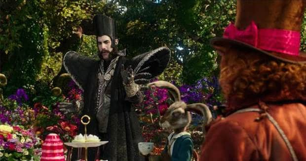 Alice Through the Looking Glass Time