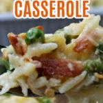 Cheesy Chicken Orzo Casserole