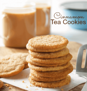 Cinnamon Tea Cookies Recipe – Expanding our World with Travel and New Tastes