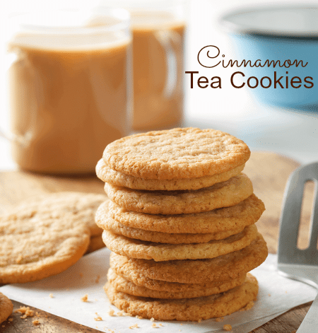 Cinnamon Tea Cookies