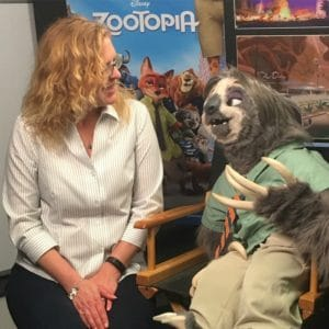Interviewing Zootopia's Flash!