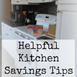 5 Kitchen Savings Tips