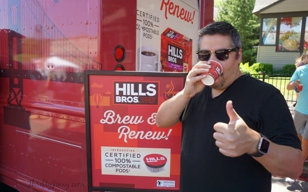 Hills Bros Coffee Truck Grand Ole Day