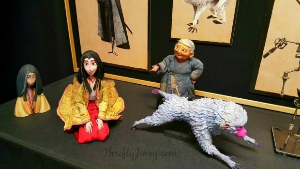 Kubo Two Strings Puppets Close Up