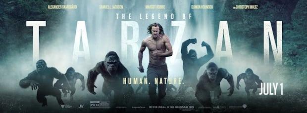 Legend Tarzan Apes