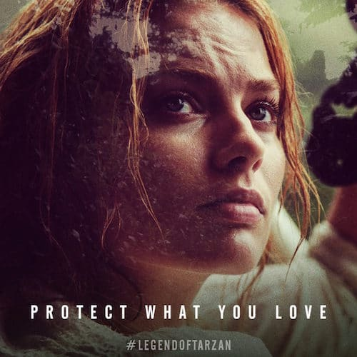 Legend of Tarzan Jane Protect What You Love