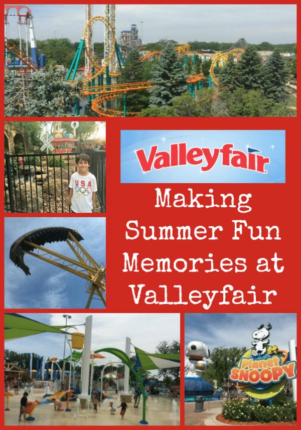 Making Summer Fun Memories at Valleyfair - Shakopee Minnesota
