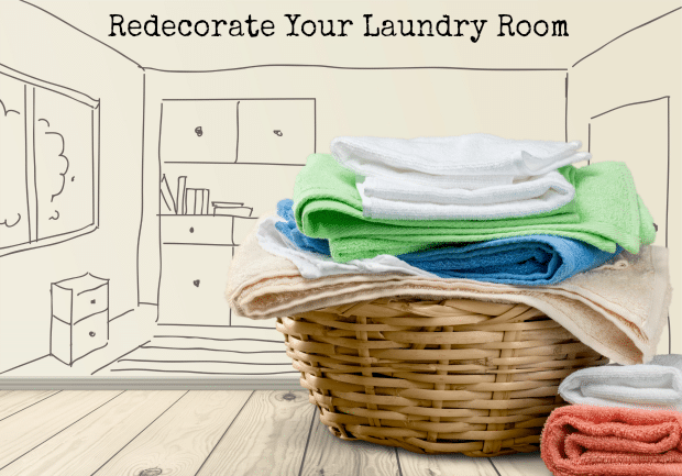 5 ways to make doing laundry more enjoyable thrifty jinxy for Redecorating your room