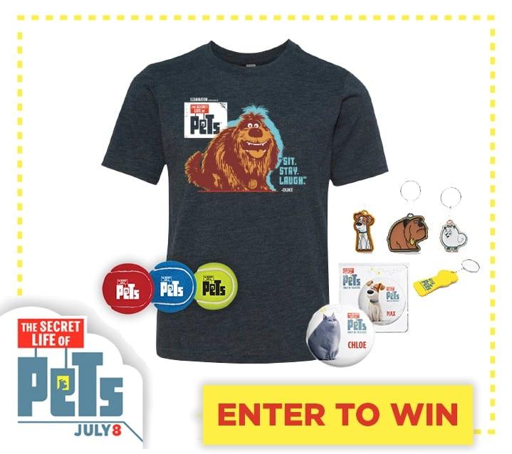 Secret Life of Pets Prize Pack
