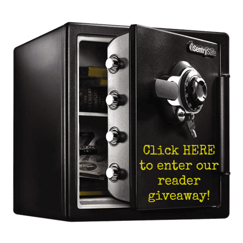 -SentrySafe Extra Large Combination Fire Safe Giveaway