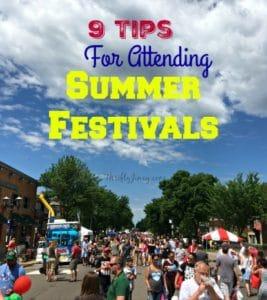 9 Tips for Attending Summer Festivals