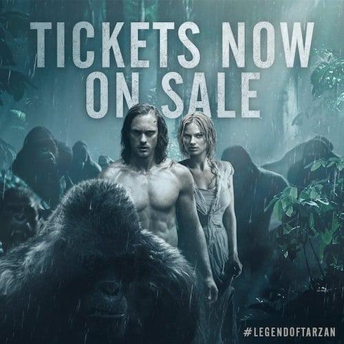 Tarzan-Tickets