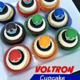 Voltron Birthday Party Treat Ideas with Cupcake Tutorial!