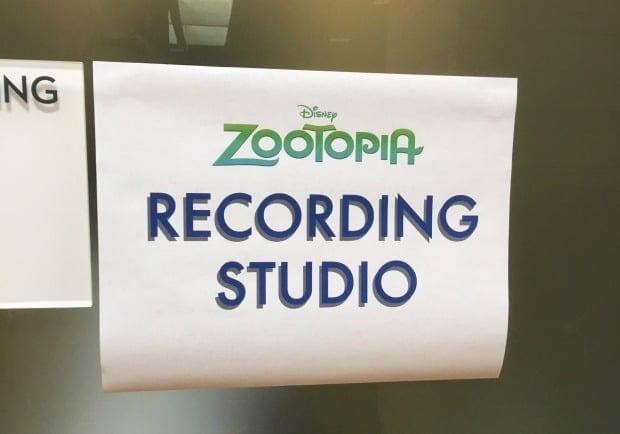 Zootopia Recording Studio