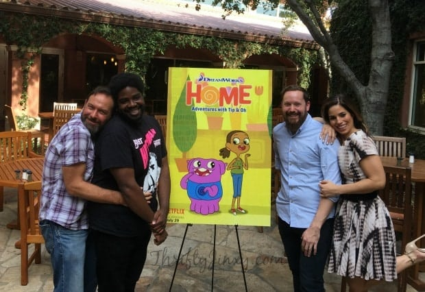 Ana Ortiz Ron Funches Ryan Crego Todd Garfield