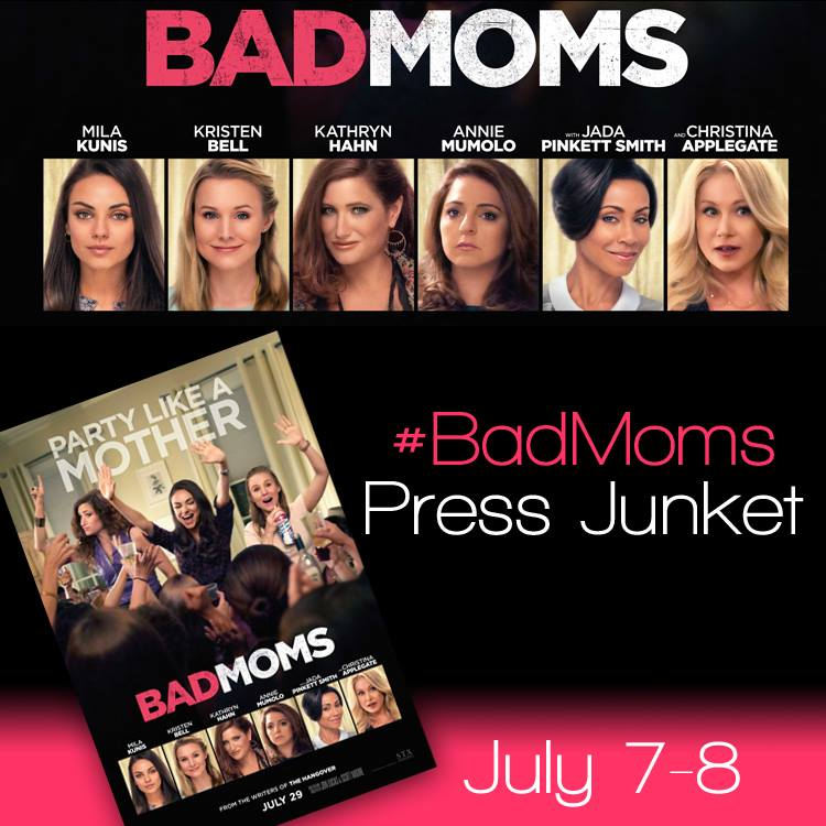 Bad Moms Press Junket