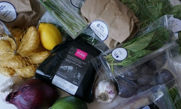 Blue Apron Ingredients