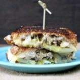 Spicy Cheeseburger Grilled Cheese Sandwich Recipe