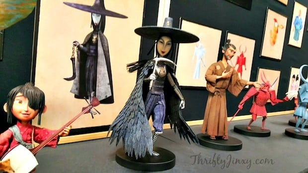 Kubo Maquettes Discussion Sisters Puppet