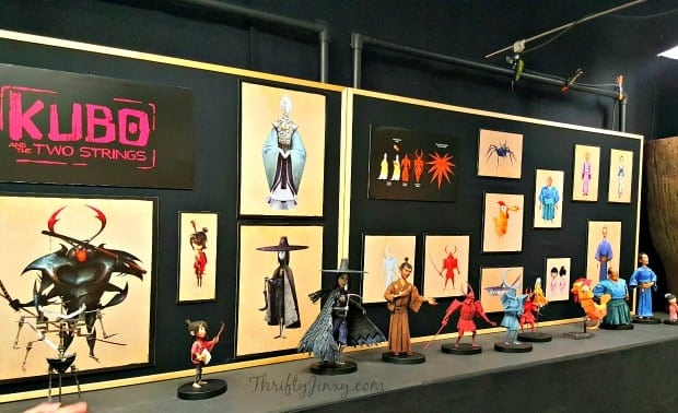 Kubo Puppets Display