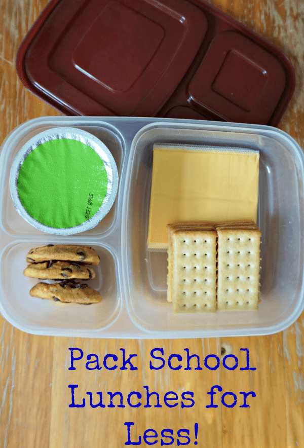Make School Lunches for Less