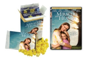 Miracles From Heaven Family Movie Night Prize Pack Giveaway
