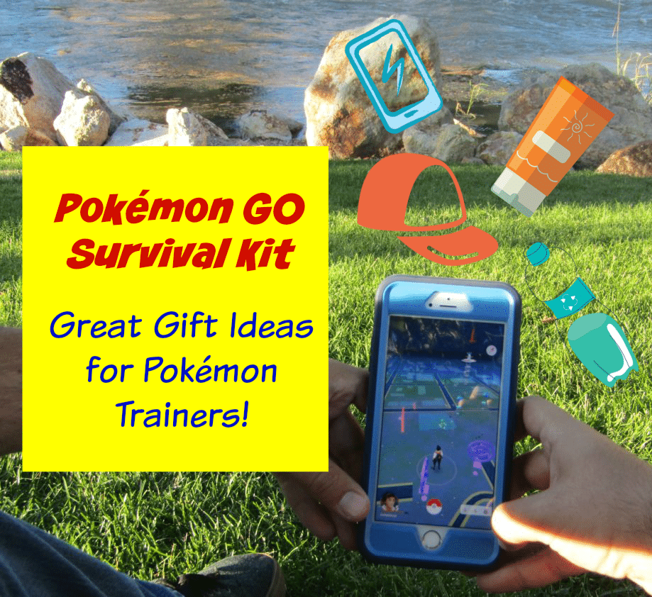 Pokemon Go Survival Kit - Great Gift Ideas for Pokemon Trainers