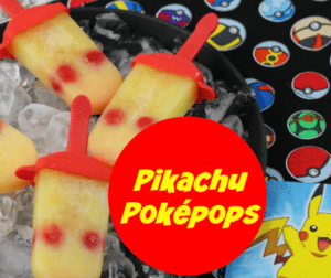 Pokemon Ice Pops Recipe – Pikachu Pokepops!