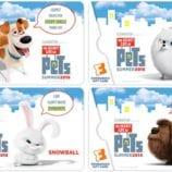 Fandango The Secret Life of Pets Fun + Gift Card Giveaway