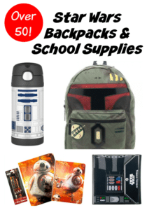 Star Wars Back to School Backpacks Supplies – 50 Items for a More Fun School Year!