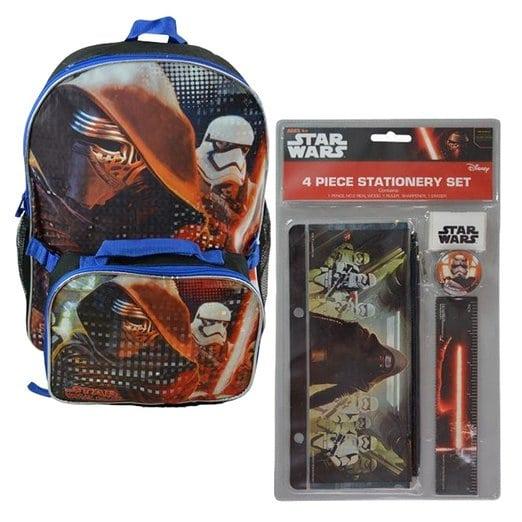 Star Wars Backpack School Supplies