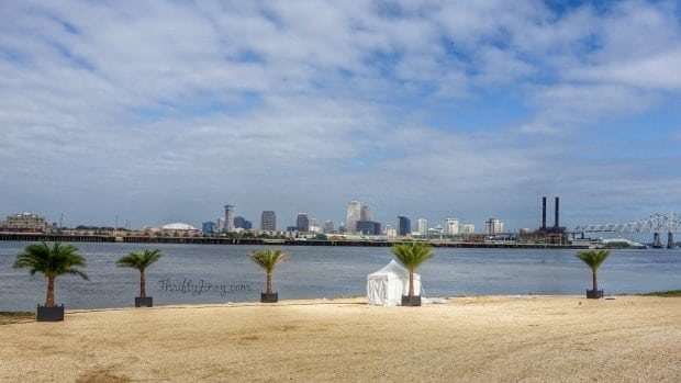 View of New Orleans from Gretna