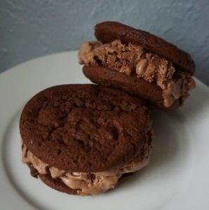 Gourmet Chocolately Ice Cream Sandwich Recipe