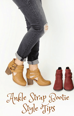 Ankle Strap Bootie Style Tips
