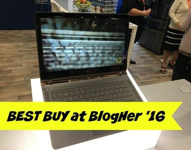 Best Buy BlogHer 16