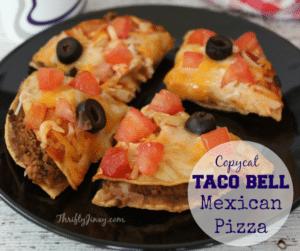 Copycat Taco Bell Mexican Pizza Recipe – Copycat Secrets!
