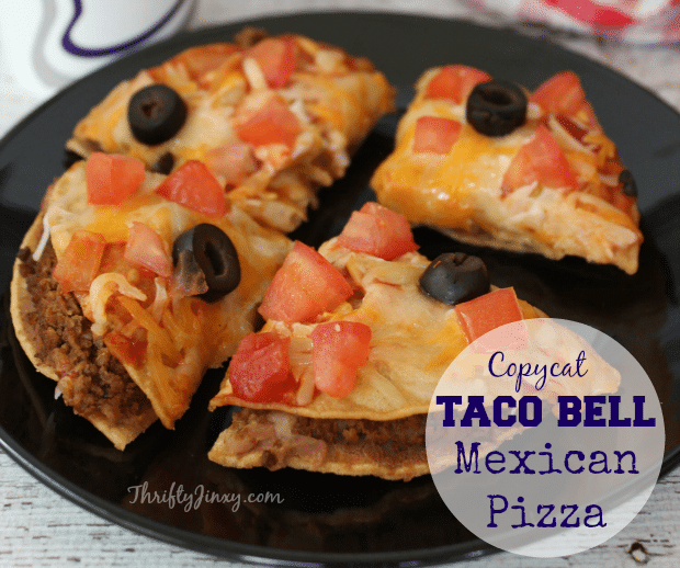 Best Copycat Taco Bell Mexican Pizza Recipe