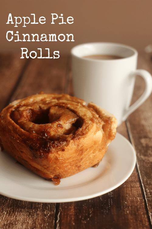 Delicious Apple Pie Cinnamon Rolls Recipe