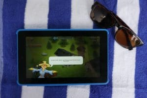 Travel Entertainment on the Go: Amazon Fire Tablet