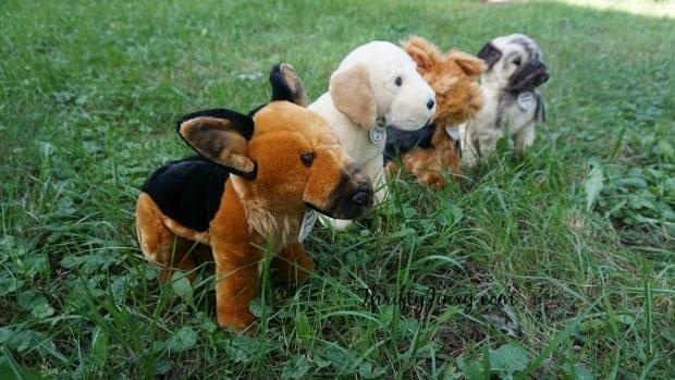 Hallmark My Best Friend Plush Dogs
