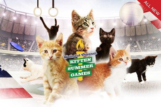 Kitten Summer Games