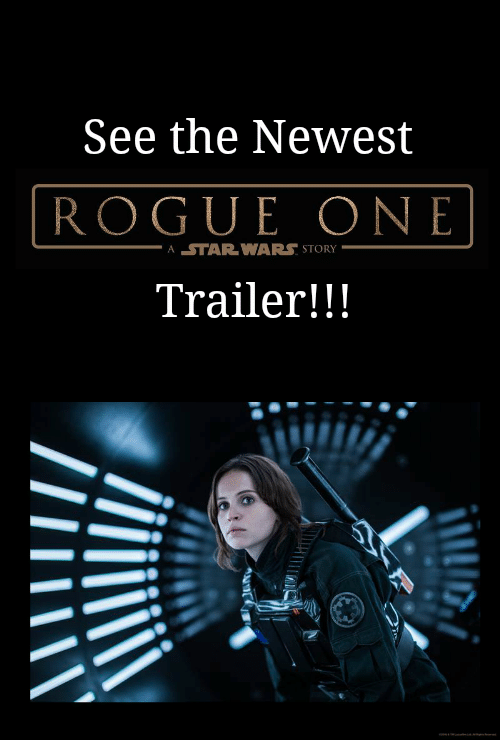 New ROGUE ONE A STAR WARS STORY Trailer