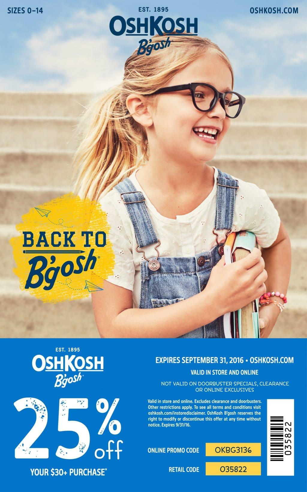 Osh Kosh Coupon