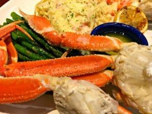 Celebrating Mom AND Crabfest at Red Lobster