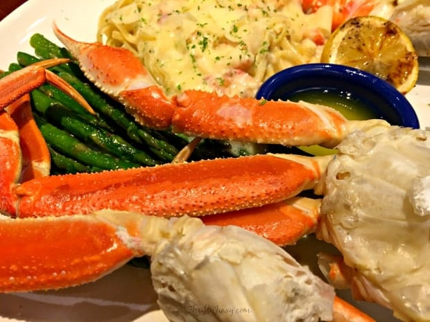 Red Lobster Crab Lover's Dream